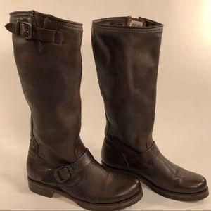 Leather Frye 'Veronica Slouch' Reg Calf Boots Sz7